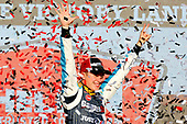 #20: Christopher Bell, Joe Gibbs Racing, Toyota Camry GameStop Just Cause 4 celebrates in victory lane