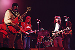 Leon Russell and Freddie King 1971 at the Rainbow Theatre in London<br /> © Chris Walter