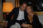 PAOLA E SVERIO VALLONE<br /> PARTY DI PAOLO PAZZAGLIA<br /> PALAZZO FERRAJOLI ROMA 2009