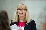 Karen O'Neill, Rio 2016 - Goalball.<br /> The Canadian Paralympic Goalball Team for Rio 2016 was announced to the media at Variety Village in Toronto // L'équipe canadienne de goalball paralympique pour Rio 2016 a été annoncée aux médias au Variety Village de Toronto. 26/08/2016.