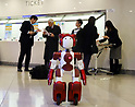 Humanoid robot Emiew3 to guide visitors at Landmark Tower in Yokohama