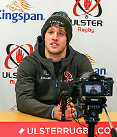 Tuesday 12th November 2019 | Ulster Rugby Match Briefing<br /> <br /> Rob Lyttle at the Match Briefing held at Kingspan Stadium, Belfast ahead of the Heineken Champions Cup Round 1 clash against Bath at the Recreation Ground Bath on Saturday 16th November 2019.  Photo by John Dickson / DICKSONDIGITAL