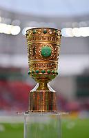 17.04.2018, Football DFB Pokal 2017/2018, semi final , Bayer Leverkusen - FC Bayern Muenchen, in BayArena Leverkusen. DFB-Pokal steht auf einem SockelSpielfeldrand bereit. *** Local Caption *** © pixathlon<br /> <br /> Contact: +49-40-22 63 02 60 , info@pixathlon.de
