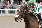 08 April 2010.  Tantamount and Javier Castellano win the 5th race.