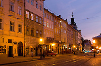 City center, Lviv, Ukraine