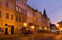 City center, Lviv, Ukraine