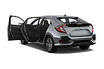 Car images of 2017 Honda Civic EX 5 Door Hatchback Doors
