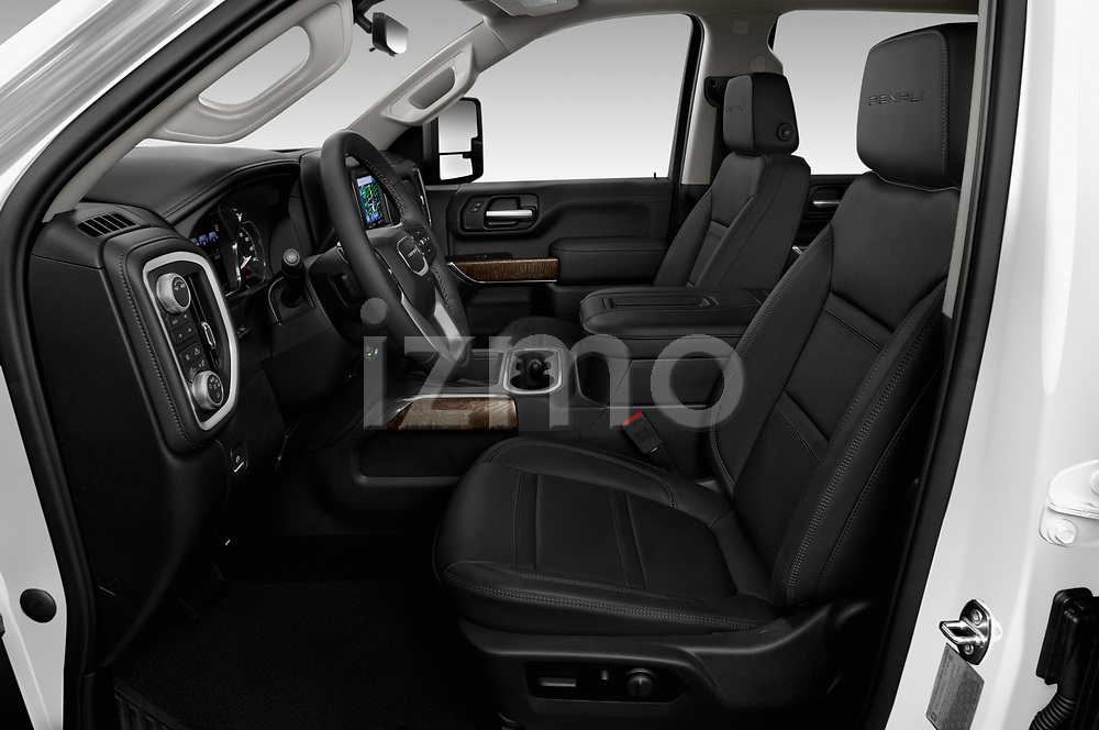 Front seat view of 2020 GMC Sierra-3500HD Denali 4 Door Pick-up Front Seat  car photos