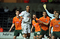 Pictured: Darren Pratley of Swansea City <br /> <br /> Picture by D Legakis / Athena Picture Agency, Swansea, 07815441513