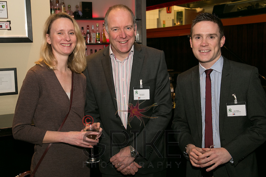 Sasha & David Stone of In Residence with Seb Walker of Hopkins (right)