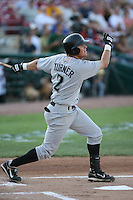 Justin Turner of the Dayton Dragons during the Midwest League All-Star game.  Photo by:  Mike Janes/Four Seam Images