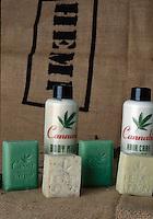 La coltura della canapa in Italia.<br /> Prodotti con base canapa