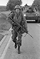 - NATO exercises in Germany, Canadian troops (October 1983)<br /> <br /> - esercitazioni NATO in Germania, truppe Canadesi (ottobre 1983)