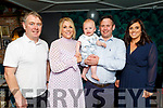 The christening of Tommy Reidy from Tralee in the Ashe Hotel on Saturday.<br /> L to r: Tomas Reidy (GF), Christine, Tommy and Dearan Reidy and Catherine Broughton.