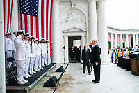 President Donald J. Trump particiaptes in a Memorial Day Ceremony | May 28, 2018 (Official White House Photo by Joyce N. Boghosian)