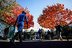 November 7, 2020 : A jockey walks through the paddock on Breeders' Cup Championship Saturday at Keeneland Race Course in Lexington, Kentucky on November 7, 2020. Scott Serio/Eclipse Sportswire/Breeders' Cup/CSM