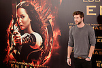 Australian actor Liam Hemsworth attends the Spanish photocall during the premiere of the film 'The Hunger Games: Catching Fire' (Tribute von Panem - Catching Fire) at Villamagna Hotel in Madrid, Spain. November 13, 2013. (ALTERPHOTOS/Victor Blanco)