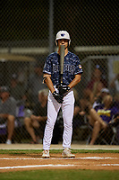 CJ Kayfus during the WWBA World Championship at the Roger Dean Complex on October 19, 2018 in Jupiter, Florida.  CJ Kayfus is a first baseman from Wellington, Florida who attends Palm Beach Central High School and is committed to Miami.  (Mike Janes/Four Seam Images)