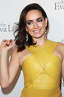 HOLLYWOOD, LOS ANGELES, CA, USA - OCTOBER 09: Anade la Reguera arrives at the Eva Longoria Foundation Dinner held at Beso Restaurant on October 9, 2014 in Hollywood, Los Angeles, California, United States. (Photo by David Acosta/Celebrity Monitor)