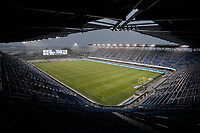 SAN JOSE, CA - SEPTEMBER 13: Earthquakes Stadium before a game between Los Angeles Galaxy and San Jose Earthquakes at Earthquakes Stadium on September 13, 2020 in San Jose, California.