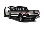 Car images close up view of a 2018 Ford F-150 XLT SuperCab 6-1/2 Box 2 Door Pick Up doors