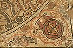 Byzantine mosaic  in Kibbutz Beit Kama