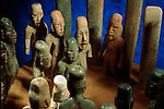 Olmec; Ancient Cultures; The Americas; jade; Ceremony; National Museum of Anthropology and History; Mexico City; Mexico; La Venta Site