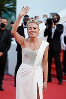 """CANNES, FRANCE - JULY 17: Sharon Stone at the final screening of """"OSS 117: From Africa With Love"""" and closing ceremony during the 74th annual Cannes Film Festival on July 17, 2021 in Cannes, France. <br /> CAP/GOL<br /> ©GOL/Capital Pictures"""