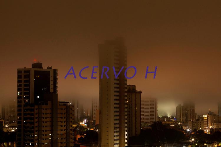Madrugada de chuvas e neblina na capital do Par·.