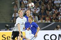 Julian Brandt (Deutschland, Germany) gegen Jere Uronen (Finnland) - Deutschland vs. Finnland, Borussia Park, Mönchengladbach