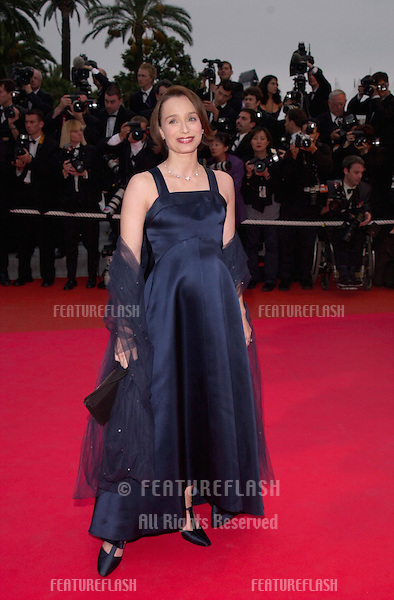 13MAY2000: Actress KRISTIN SCOTT THOMAS at the premiere of O Brother Where Art Thou in competition at the Cannes Film Festival..© Paul Smith / Featureflash