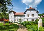 Germany, Thuringia, Rudolstadt: the Schiller-House, a literatur-museum dedicated to Friedrich Schiller | Deutschland, Thueringen, Rudolstadt: das Schillerhaus in Rudolstadt, ein Literaturmuseum, das Friedrich Schiller gewidmet ist