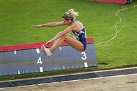 26th August 2021; Lausanne, Switzerland;  Nastassia Mironchyk-Ivanova of Belarus during the womens long jump at Diamond League athletics meeting  at La Pontaise Olympic Stadium in Lausanne, Switzerland.