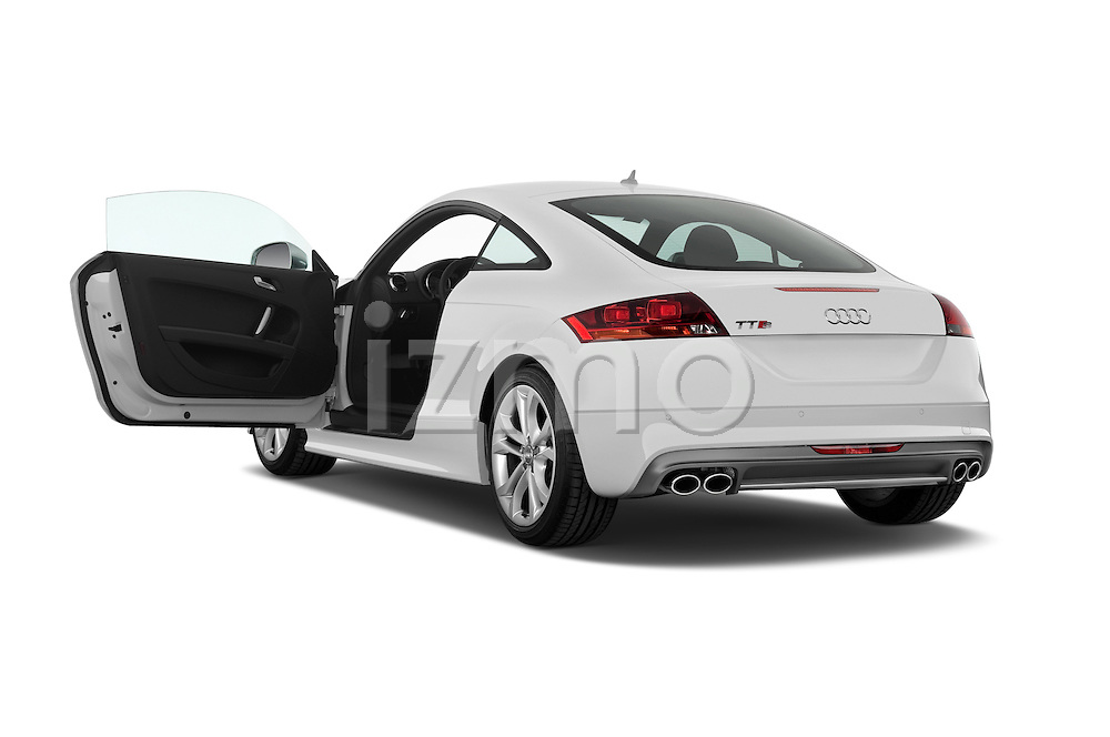 Rear three quarter door view of a 2008 - 2010 Audi TTS 3 Door Coupe 2WD