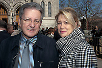 Les funerailles de Jean Lapierre, avril 2016