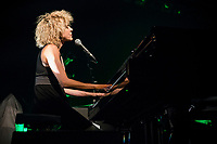 Marie-Jo Therio perform at <br /> the  Festival en Chanson of Petite-Vallee in Gaspesia on July 5,2014.<br /> Photo : Agence Quebec Presse  - Frederic SeguinMarie-Jo Therio perform at <br /> the  Festival en Chanson of Petite-Vallee in Gaspesia on July 5,2014.<br /> <br /> Photo : Agence Quebec Presse  - Frederic Seguin