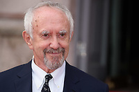 """Jonathan Pryce<br /> arriving for the premiere of """"The Wife"""" at Somerset House, London<br /> <br /> ©Ash Knotek  D3418  09/08/2018"""