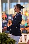 Reed Kessler walking the course  at the USEF trials, USEF Trial #4,  USEF trials Wellington Florida. 3-24-2012. Photo by Arron Haggart/Eclipse Sportswire