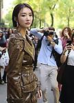 Ko Joon-hee at the Fendi Fashion Show during the Milan's Fashion Week Women's wear Spring Summer 2019, in Milan on September 20, 2018.