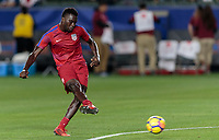Carson, CA - Sunday January 28, 2018: C.J. Sapong during an international friendly between the men's national teams of the United States (USA) and Bosnia and Herzegovina (BIH) at the StubHub Center.