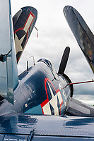 """""""Folded Wings"""" An F4U Corsair eager to take to the skies."""