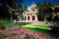 Casa del Prado and Theater, Balboa Park, San Diego, California.
