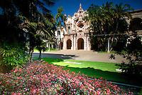 Casa del Prado and Theater, Balboa Park, San Diego, California.