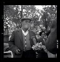 15 octobre 1965. Scène de marché (foire à l'ail)