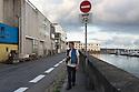 Brest - Bretagna, 23 agosto 2020.  Peter Forbes in rue Alderic Lecomte.