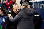 Javier Aguirre coach of CD Leganes and Imanol Alguacil coach of Real Sociedad
