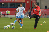 Chicago, IL - Saturday Sept. 24, 2016: Rory Dames prior to a regular season National Women's Soccer League (NWSL) match between the Chicago Red Stars and the Washington Spirit at Toyota Park.