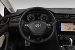 Car pictures of steering wheel view of a 2019 Volkswagen Arteon SEL 5 Door Hatchback