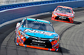 2017 NASCAR Xfinity Series<br /> Service King 300<br /> Auto Club Speedway, Fontana, CA USA<br /> Saturday 25 March 2017<br /> Kyle Busch, NOS Energy Drink Toyota Camry and Erik Jones, Game Stop / Nyko Mini Boss Toyota Camry<br /> World Copyright: Nigel Kinrade/LAT Images<br /> ref: Digital Image 17FON1nk04121