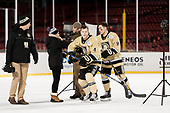 Ryan Nick (Army - 4), Tyler Pham (Army - 9) - The Bentley University Falcons defeated the Army West Point Black Knights 3-1 (EN) on Thursday, January 5, 2017, at Fenway Park in Boston, Massachusetts.The Bentley University Falcons defeated the Army West Point Black Knights 3-1 (EN) on Thursday, January 5, 2017, at Fenway Park in Boston, Massachusetts.